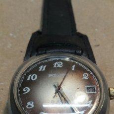 Relojes de pulsera: RELOJ ANTIGUO DE CUERDA POLJOT 23 JEWELS FUNCIONANDO. Lote 86163511
