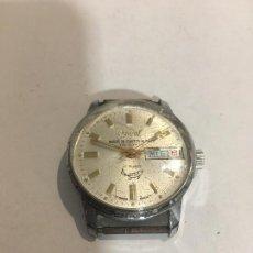 Relojes de pulsera: ANTIGUO RELOJ OJIVAL CARGA MANUAL A CUERDA FUNCIONA. Lote 86204204