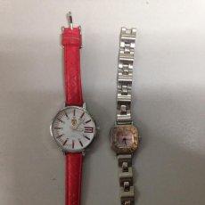 Relojes de pulsera: LOTE 2 RELOJES QUARTZ . Lote 86598648