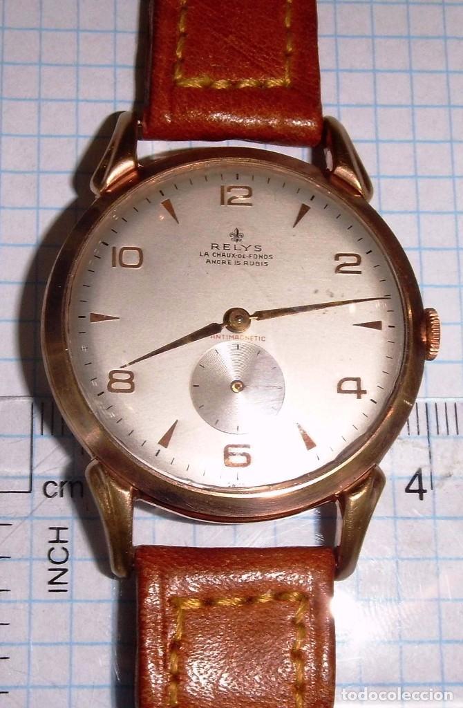 RELYS (Relojes - Pulsera Carga Manual)