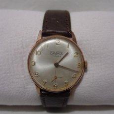 Relojes de pulsera: CAVIKA. ANTIGUO RELOJ. CHAPADO EN ORO. 17 RUBÍS. (RF). Lote 86763156