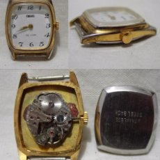 Armbanduhren - Tinsel de Luxe. Antiguo Reloj. 17 Jewels. Chapado en oro. (RF) - 86763600