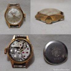 Relojes de pulsera: DUWARD. 17 RUBÍS. ANTIGUO RELOJ SUIZO. PLAQUE ORO.. Lote 86900708