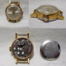 Relojes de pulsera: TAYLOR. 17 RUBÍS. ANTIGUO RELOJ SUIZO. PLAQUE ORO.. Lote 86901852