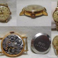 Relojes de pulsera: TECHNOS. 15 JEWELS. ANTIGUO RELOJ SUIZO. CHAPADO EN ORO.. Lote 86902080