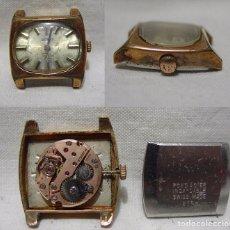 Relojes de pulsera: ZEITEN. 17 RUBÍS. ANTIGUO RELOJ SUIZO. PLAQUE ORO.. Lote 86902492