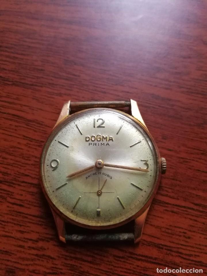 reloj dogma prima chapado oro 10m - Comprar Relojes antiguos de ... d6cc179aa306