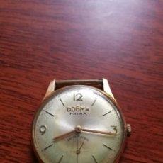 Relojes de pulsera: RELOJ DOGMA PRIMA CHAPADO ORO 10M. Lote 87087216