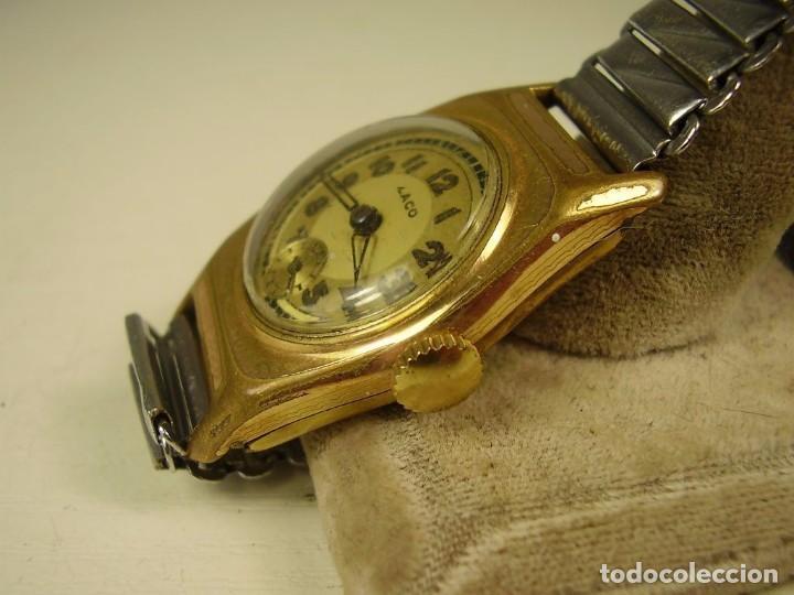 Relojes de pulsera: Reloj de pulsera Laco. 1920 - Foto 2 - 87103340