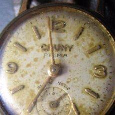 Relojes de pulsera: RELOJ DE SEÑORA CAUNY. NO FUNCIONA. Lote 87134760