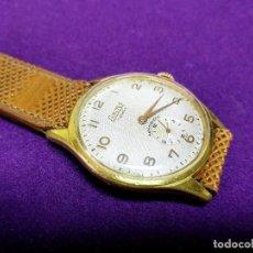 Relojes de pulsera: ANTIGUO RELOJ DE PULSERA EXACTUS. CARGA MANUAL-CUERDA. EN FUNCIONAMIENTO. AÑOS 50. SWISS. CABALLERO. Lote 153130094