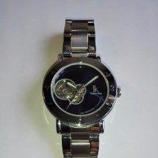 Relojes de pulsera: RELOJ ESQUELETO AZUL. Lote 87607312