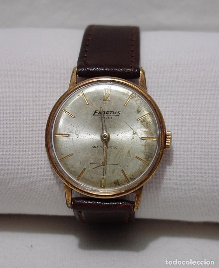 exactus. antiguo reloj suizo. 17 rubís. antimag - Comprar Relojes ... dcb3707c4427