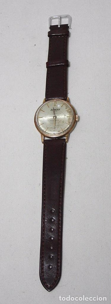 Relojes de pulsera: Exactus. Antiguo Reloj Suizo. 17 rubís. Antimagnetic. - Foto 2 - 87679988