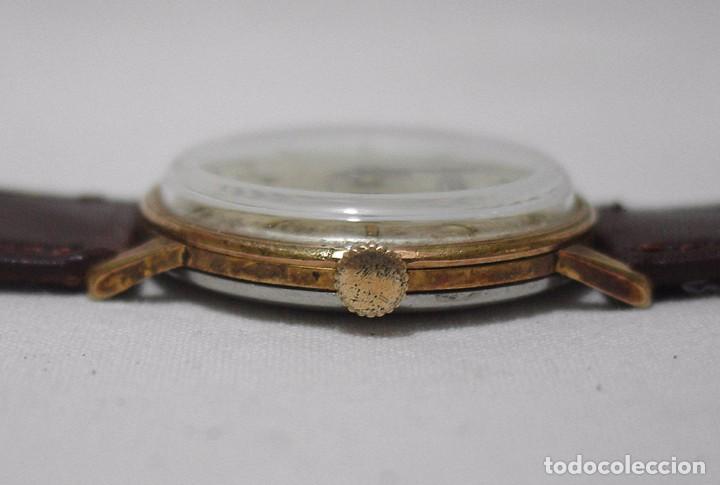 Relojes de pulsera: Exactus. Antiguo Reloj Suizo. 17 rubís. Antimagnetic. - Foto 3 - 87679988