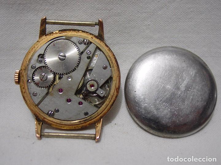 Relojes de pulsera: Exactus. Antiguo Reloj Suizo. 17 rubís. Antimagnetic. - Foto 4 - 87679988