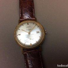 Relojes de pulsera: RELOJ DE CUERDA SUIZO DUWARD CALENDAR DE ORO. CABALLERO.. Lote 88120888