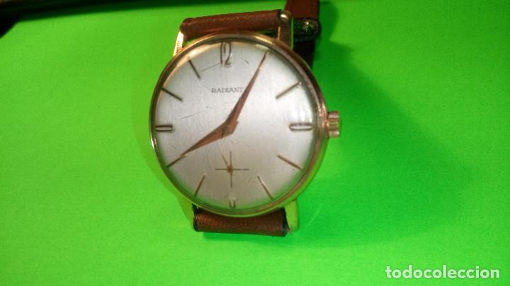 Relojes de pulsera: ANTIGUO RADIANT - AÑOS 60. FUNCIONANDO. 35.1 - 37.2 MM. CARGA MANUAL. DESCRIP Y FOTOS VARIAS. - Foto 13 - 88566208