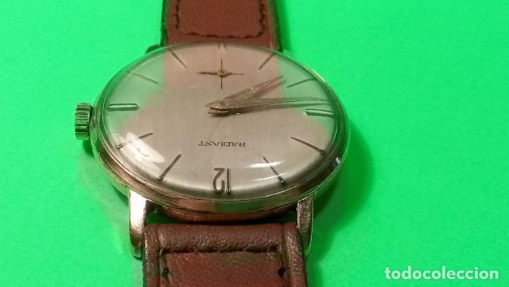 Relojes de pulsera: ANTIGUO RADIANT - AÑOS 60. FUNCIONANDO. 35.1 - 37.2 MM. CARGA MANUAL. DESCRIP Y FOTOS VARIAS. - Foto 9 - 88566208