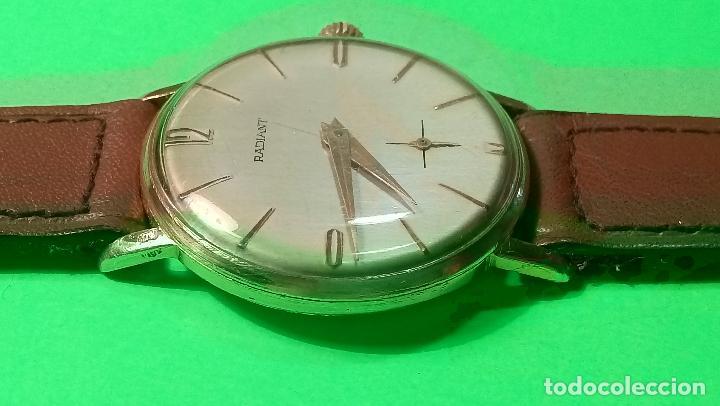 Relojes de pulsera: ANTIGUO RADIANT - AÑOS 60. FUNCIONANDO. 35.1 - 37.2 MM. CARGA MANUAL. DESCRIP Y FOTOS VARIAS. - Foto 10 - 88566208