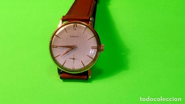 Relojes de pulsera: ANTIGUO RADIANT - AÑOS 60. FUNCIONANDO. 35.1 - 37.2 MM. CARGA MANUAL. DESCRIP Y FOTOS VARIAS. - Foto 2 - 88566208