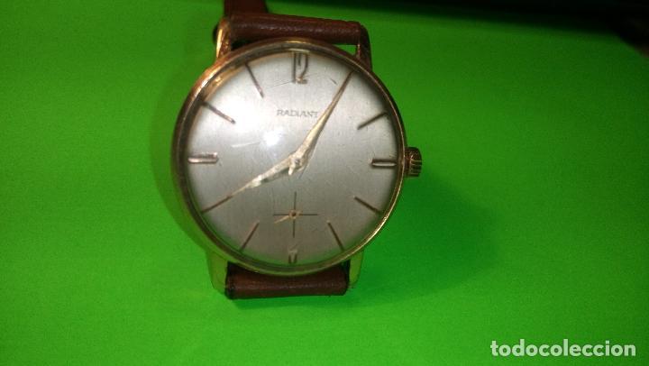 Relojes de pulsera: ANTIGUO RADIANT - AÑOS 60. FUNCIONANDO. 35.1 - 37.2 MM. CARGA MANUAL. DESCRIP Y FOTOS VARIAS. - Foto 3 - 88566208