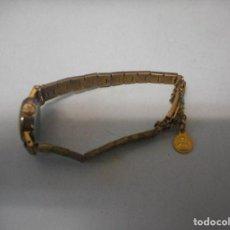 Relojes de pulsera: ANTIGUO RELOJ ARCADIA CON MEDALLA. Lote 88835084