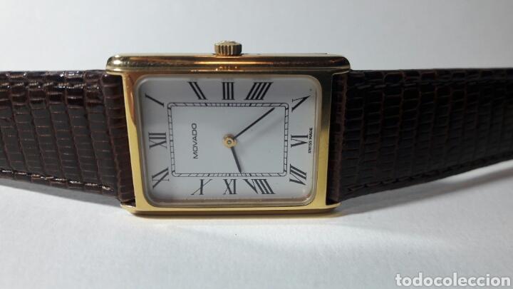 Relojes de pulsera: RELOJ MOVADO ZENITH SWISS CUERDA DE COLECCION NUMEROS ROMANOS RARO ESCASO - Foto 5 - 88870994