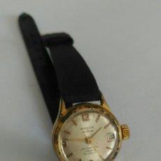 Relojes de pulsera: RELOJ ANKER ENCHAPADO DE ORO. DE CUERDA. FUNCIONANDO. 17 RUBIS. Lote 88975354