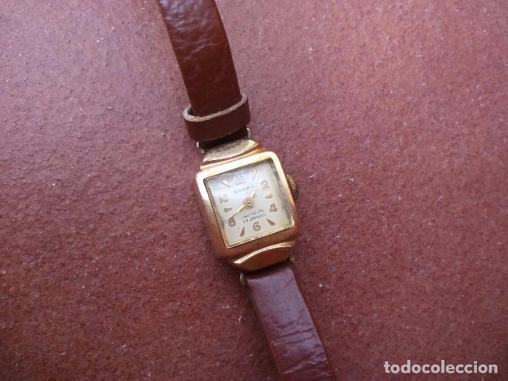 dc7b27b33830 ancre incabloc. 17 jewels. waltzgolddouble 20 m - Comprar Relojes ...