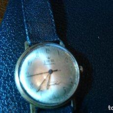 Relojes de pulsera: ANTIGUO RELOJ DE PULSERA CARGA MANUAL BADENIA. EN FUNCIONAMIENTO. VER FOTOS. Lote 89821600
