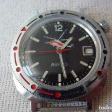 Relojes de pulsera: RELOJ MILITAR RUSO MANUAL VOSTOK/BOSTOK HELICÓPTEROS. Lote 90013111
