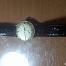 Relojes de pulsera: ANTIGUO RELOJ CYMA SUIZO ESFERA CHAMPAN CARGA MANUAL FUNCIONANDO. Lote 90071402
