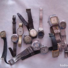 Relojes de pulsera: LOTE DE 12 RELOJES MECANICOS P'ARA PIEZAS W3. Lote 90083568