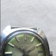 Relojes de pulsera: RELOJ LUXOR 17 JEWELS INCABLOC. Lote 90874060
