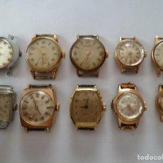 Relógios de pulso: EXCELENTE LOTE DE 10 RELOJES MACANICOS. Lote 92662495