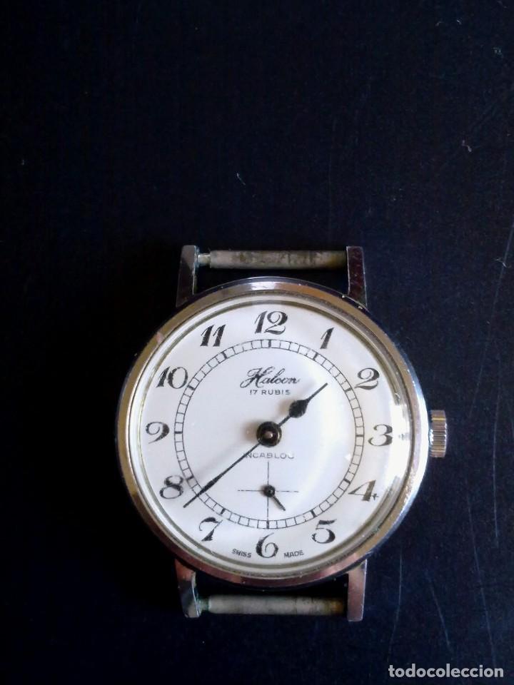 reloj halcon. - Comprar Relojes antiguos de pulsera carga manual en ... e58bdc1530de