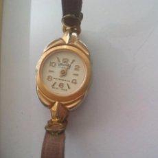 Relojes de pulsera: RELOJ DE PULSERA DE SEÑORA WILSON WRLOMAN. 17 JEWELS. MADE IN SUIZA SWISS CLOCK WOMEN WATCH. Lote 93660980