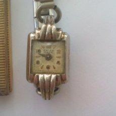 Relojes de pulsera: RELOJ DE PULSERA DE SEÑORA MADE IN SUIZA. SWISS. CORREA EXTENSIBLE, ANTIQUE CLOCK WOMEN WATCH. Lote 93742055