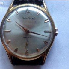 Relojes de pulsera: RELOJ CABALLERO CRISTAL WATCH, 15 RUBIS. Lote 94048985