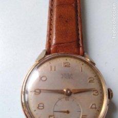 Relojes de pulsera: RELOJ VOGA ANCRE 15 RUBIS CON SEGUNDERO A CUERDA FUNCIONANDO DE CABALLERO. Lote 94077750