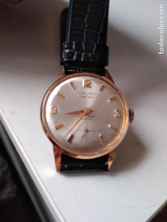 Relojes de pulsera: Cauny Prima. 17 Rubis. . suizo. Plaque oro. CON SEGUNDERO RELOJ DE MUJER - Foto 2 - 94078905
