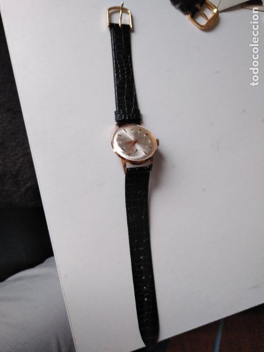 Relojes de pulsera: Cauny Prima. 17 Rubis. . suizo. Plaque oro. CON SEGUNDERO RELOJ DE MUJER - Foto 3 - 94078905