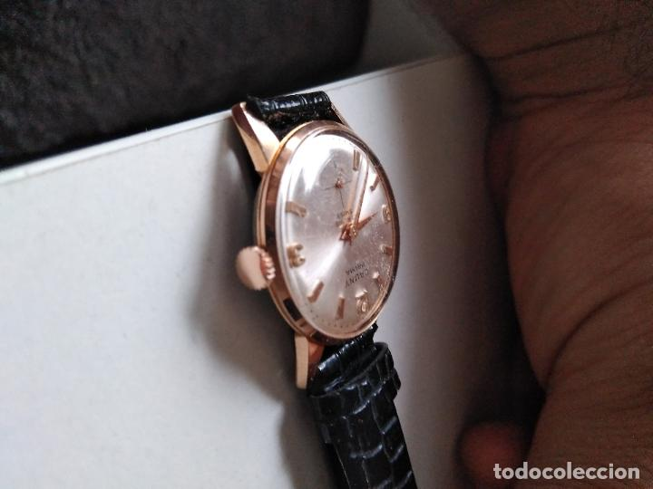 Relojes de pulsera: Cauny Prima. 17 Rubis. . suizo. Plaque oro. CON SEGUNDERO RELOJ DE MUJER - Foto 4 - 94078905