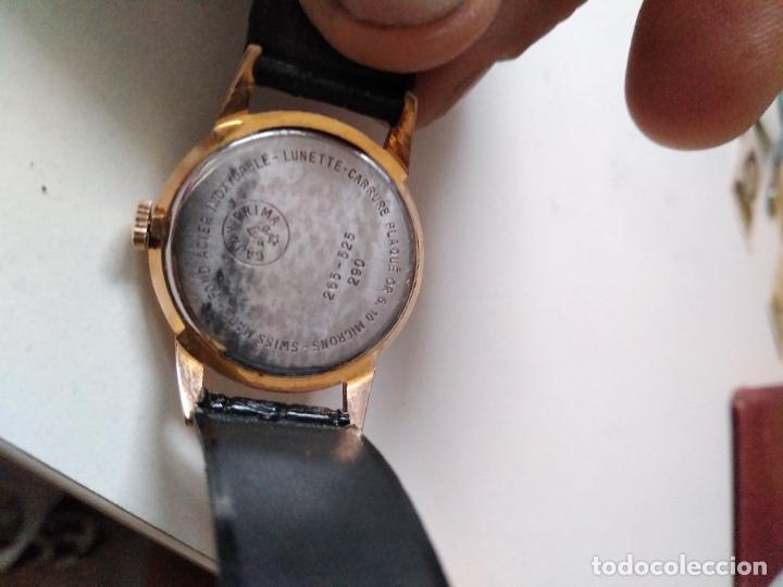 Relojes de pulsera: Cauny Prima. 17 Rubis. . suizo. Plaque oro. CON SEGUNDERO RELOJ DE MUJER - Foto 6 - 94078905