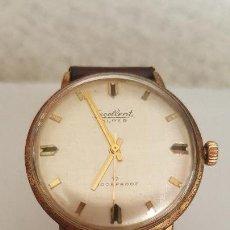 Relojes de pulsera: RELOJ EXCELLENT .SUPER 17 HOCEKAPROOF DE CUERDA. Lote 95304663