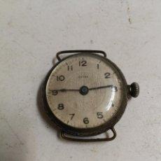 Relojes de pulsera: ANTIGUO RELOJ DE PULSERA DE PLATA MARCA EXTRA. Lote 95631935