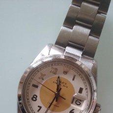 Relojes de pulsera: VINTAGE Y SINGULAR RELOJ ROLEX HOMBRE OYSTER DATE PRECISION AÑO 66 CAJA Y ARMIS ACERO CALIBRE 1215. Lote 95667819