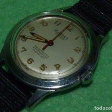 Relojes de pulsera: PRECIOSO RELOJ KARDEX TIPO MILITAR AÑOS 50 CALIBRE ETA 2370 SWISS MADE 17 RUBIS CAJA ACERO BAUHAUS. Lote 96545343