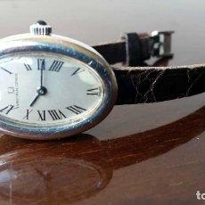 Relojes de pulsera: RELOJ UNIVERSAL GENEVE MUJER, PLATA. Lote 96700503